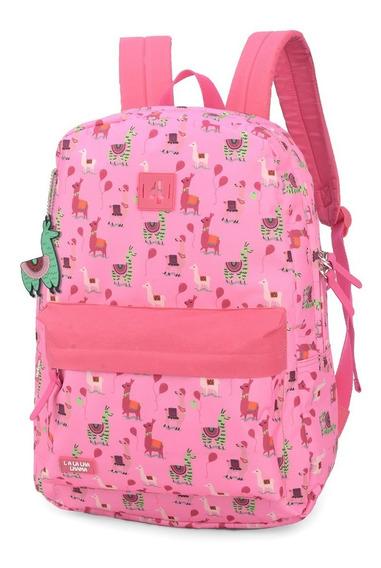 Mochila Up4you Lhama Pink - Luxcel Ms45700up-pk