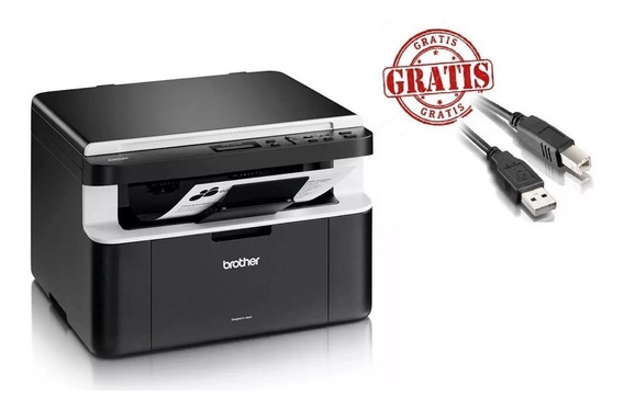 Multifuncional Impressora Brother Dcp-1602 1602 Gratis Usb