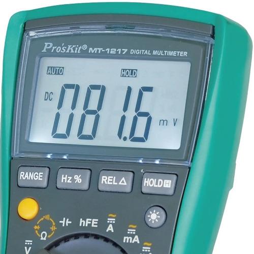 Imagen 1 de 5 de Tester Multimetro Voltimetro Autorango Digital Capacimetro