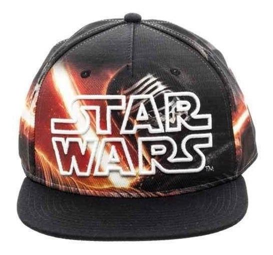 Star Wars Kylo Ren Gorra Ajustable Sublimada Force Awakens