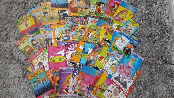 Livro Infantil Usado 60uni.+livro Que Ensina A Fazer Mágicas