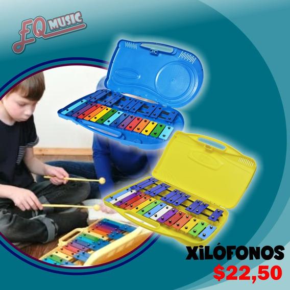 Xilófono 25 Teclas Colores C/estuche Y Baqueta Nuevos Oferta