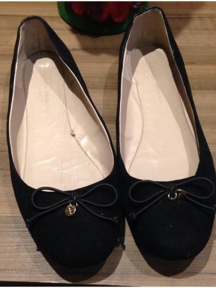 Sapatilha Preta Zara Basic