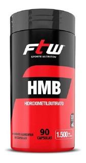 Hmb Hidroximetilbutirato - 90 Cápsulas De 1.500mg - Ftw