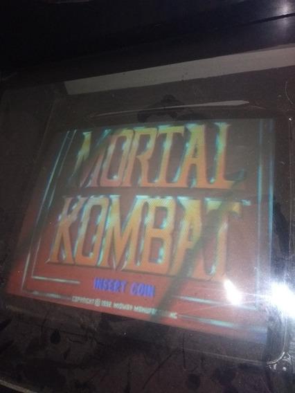 Placa Mortal Kombat 1 Jamma Pcb Arcade Praticamente Nova