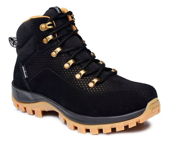 Bota Adventure Cano Alto Macboot Granada 04 Preto