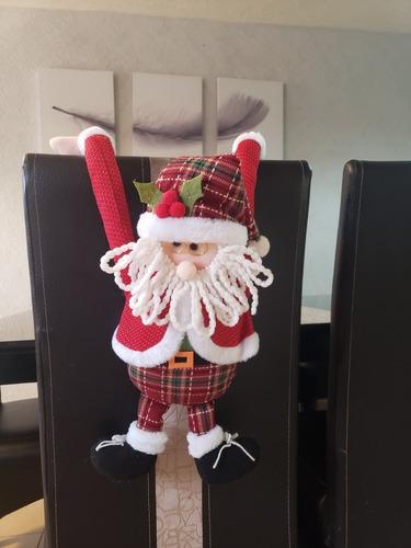 Imagen 1 de 2 de Santa Claus Rojo Muñeco Colgante
