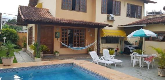 Casa Com 4 Dormitórios À Venda, 230 M² Por R$ 930.000 - Praia Campista - Macaé/rj - Ca1396