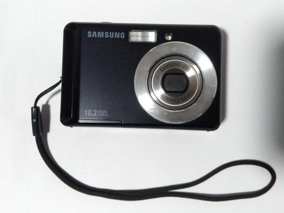Câmera Digital Samsung 10.2 Mp Es15 Preta Em Ótimos Estado.