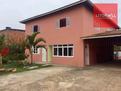 Imagem 1 de 28 de Chácara Com 7 Dormitórios À Venda, 1020 M² - Chácaras Cibratel - Itanhaém/sp - Ch0033