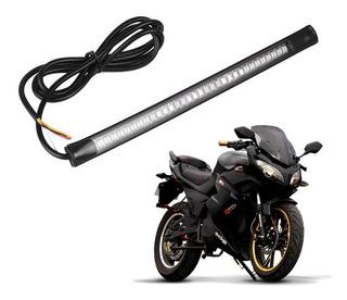 Shoptech Tira Drl Led Para Moto Razor Stop Y Direccionales