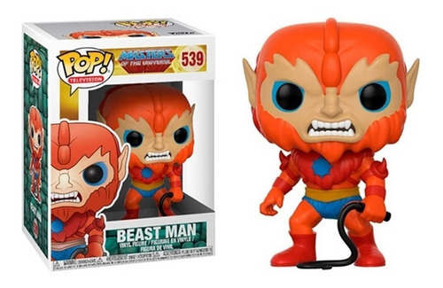 Funko Pop!masters Universe- Beast Man- #539- %100 Original