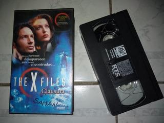 Vhs Vídeo The X Files Clausura Vintage Subtitulos En Español