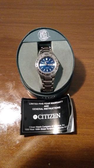 Relógio Citizen Eco-drive Titanium Wr 100