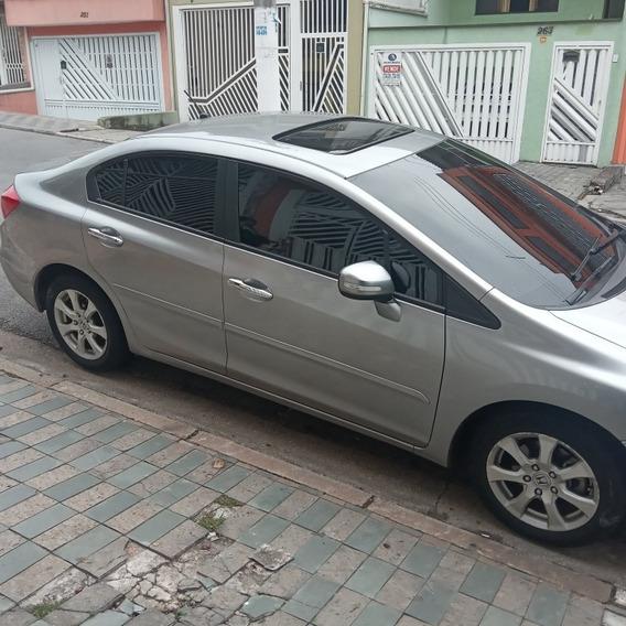 Civic Exr 2,0 16 V 2014 / Carro De Mulher Km 88000