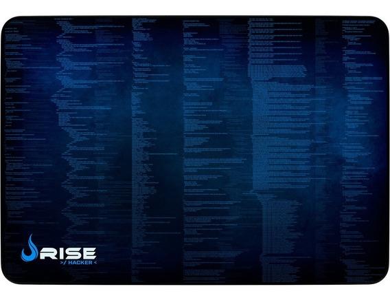 Mousepad Gamer Rise Mode Hacker - Medio Bc