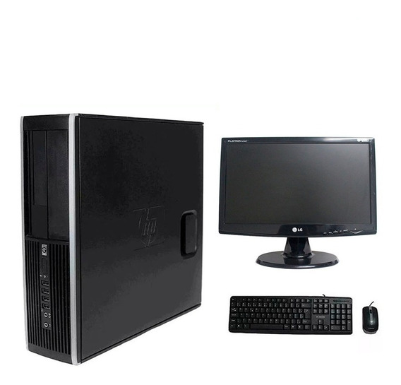 Computador Hp Elite 8200 I7 4gb 500gb Monitor 19 Polegadas