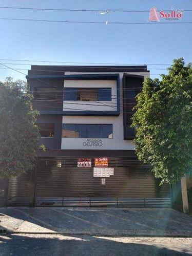 Studio Com 2 Dormitórios, 44 M² - Venda Por R$ 260.000,00 Ou Aluguel Por R$ 1.400,00/mês - Vila Antonina - São Paulo/sp - St0002