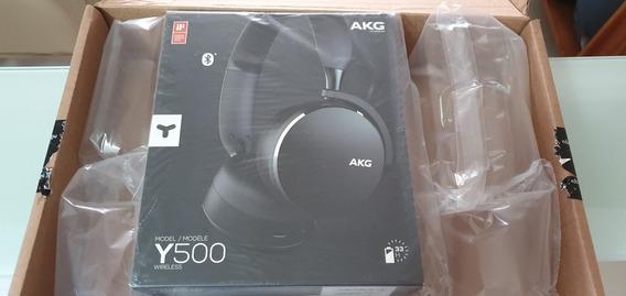 Fone Estéreo Bluetooth On Ear Akg Y500 Novo Original