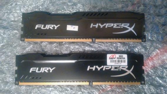 2 Pente De Memoria Ram Hyperx Fury Ddr3 8gb 1866 Mhz (2x4gb)