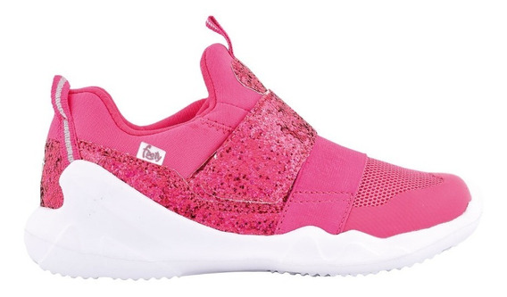 Zapatillas Mini Flexy Fucsia Ultraliviana - Footyoficial