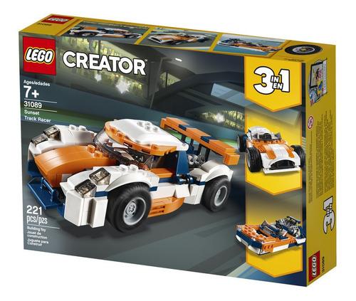 Lego Auto De Carreras Sunset