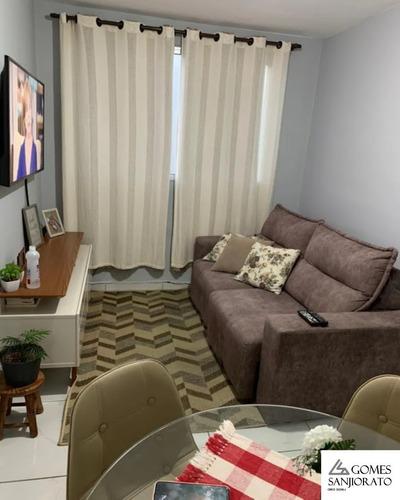 Imagem 1 de 7 de Apartamento Para Venda No Parque São Vicente Em Mauá - Ap01427 - 69453194