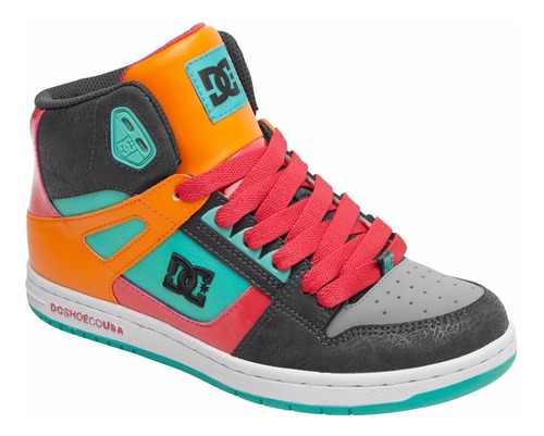 Botin Dc Shoes Rebound High Unisex Tallas 7-5, 8 Y 9