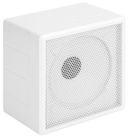 Caixa De Som Cubo 20rms 6 Pol. 19,5x19,5x13cm Branco Rontek