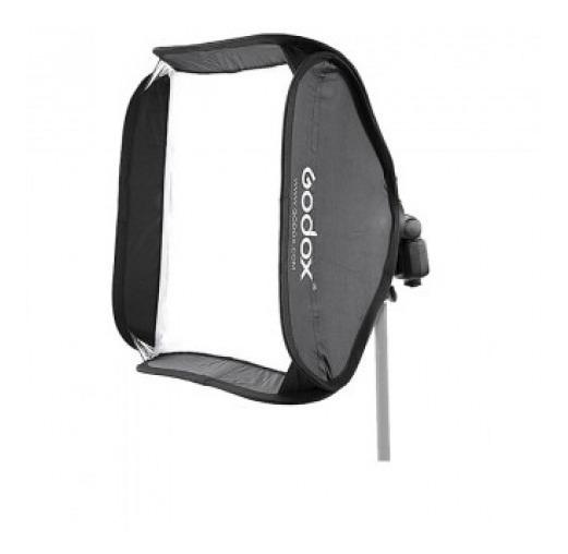 Softbox 60x60cm Flash Dedicado Speedlight Godox