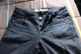 Pantalones Jeans Negros Mujer, Talla 38