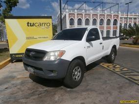 Toyota Hilux Cabina Sencilla A/a - Sincronico