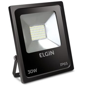 Kit Com 06pçs Refletor Led 30w Bivolt 48rpled30w00 Elgin
