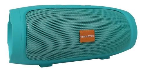 Imagem 1 de 1 de Alto-falante H'maston H007 portátil verde