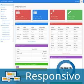 Site Script Php Gerenciador Financeiro Pessoal Responsivo