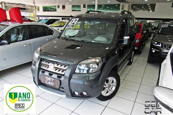 Fiat Doblò 1.8 Mpi Adventure 16v Flex 4p Manual 2011/2012