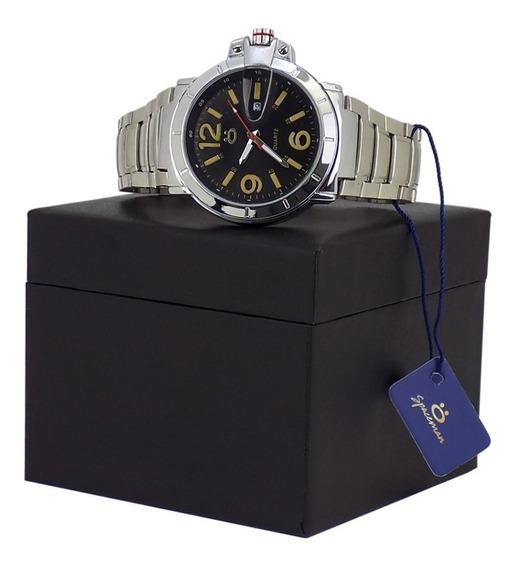 Relógio Masculino Prata 100% Funcional Frete Grátis!!