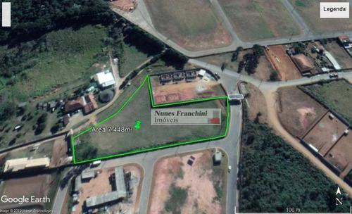 Terreno 7.448m² - Zpr - Vargem Grande Paulista - Te0092