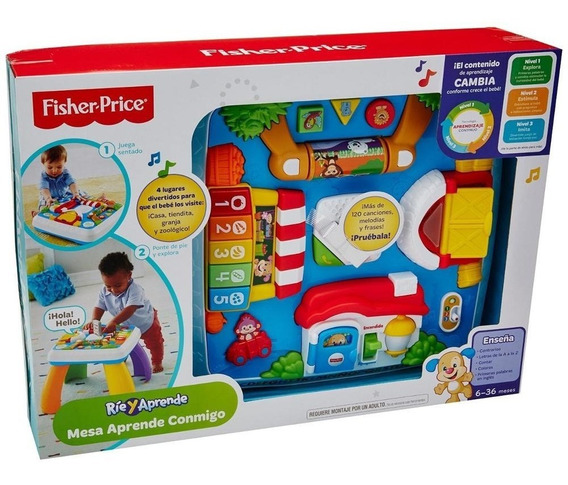 Mesa Aprende Conmigo - Fisher Price