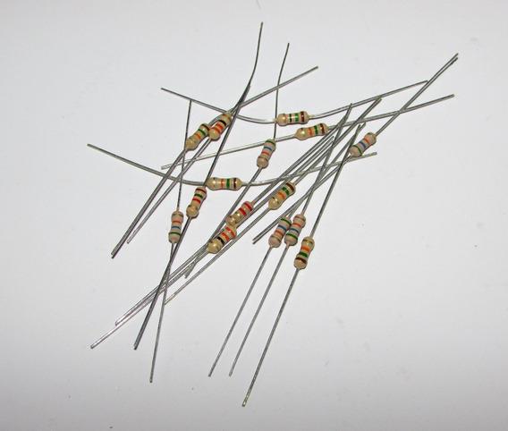 100x 106005 - Resistor 0,25w 3k Ohms Carvão
