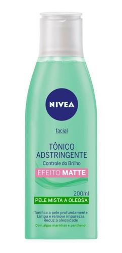 Tônico Adstringente Nivea Controle Do Brilho 200ml