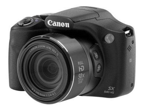Câmera Fotográfica Semi Profissional Canon Sx540 Hs