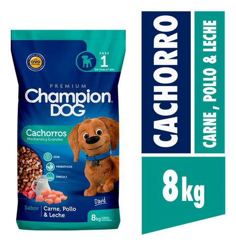 Champion Dog Cachorro 8 Kg