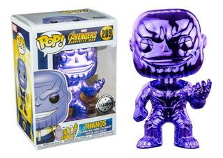 Funko Pop! Thanos #289 Exclusivo Popcultcha Avengers Marvel