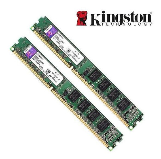 Memória Ram Ddr 3 1333 Mhz 8gb (2x4) Semi Novo