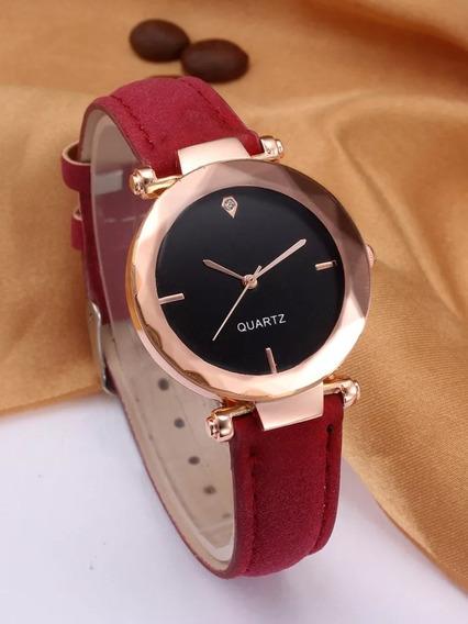 Relógio Pulso Feminino Luxo 3d