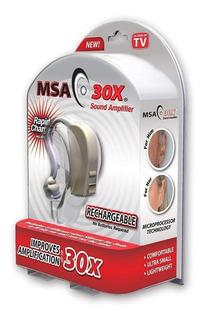 Audífono Amplificador Msa30x Recargable Nuevo + Envió Gratis