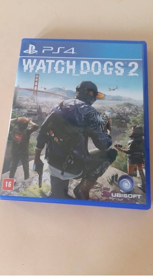 Jogo Watch Dogs 2 - Ps4 - Midia Fisica - Pt-br