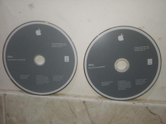 Dvd Original iMac Snow Leopard Osx 10.6.4