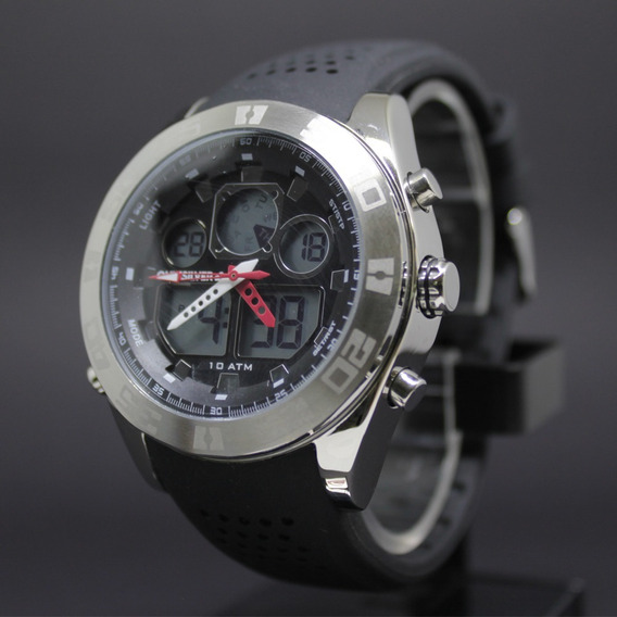 Relógio The Fifty 50 Quiksilver Qs-1017-bksv